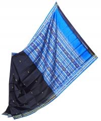 4155 R.M. 07 Sambalpuri Khandua Silk Saree