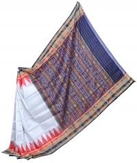 4155 R.M. 06 Sambalpuri Khandua Silk Saree