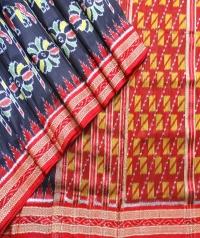 4155 R.M. 08 Sambalpuri Khandua Silk Saree