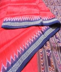 4155 R.M. 09 Handwoven Khandua Silk Saree