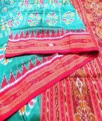 4155 R.M. 10 Handwoven Khandua Silk Saree