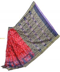 4155 R.M. 14 Handwoven  Khandua Silk Saree