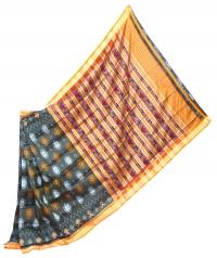 4155 R.M. 15 Handwoven Khandua Silk Saree