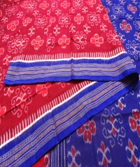 7444/1208 Sambalpuri Handwoven Cotton Saree