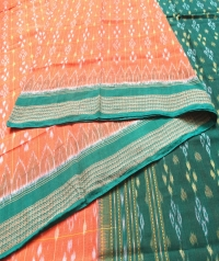 4444 SURYA MANI (F) Sambalpuri Handwoven Cotton Saree