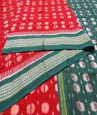 7444/952 F Sambalpuri Handwoven Cotton Saree