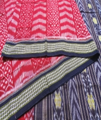 4445 ANJANA Sambalpuri  Handwoven Cotton Saree