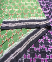 7444/921 (F) Sambalpuri  Handwoven Cotton Saree