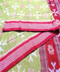 7444/1237 Sambalpuri  Handwoven Cotton Saree