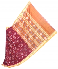 4443/03 Sambalpuri Handwoven Cotton Saree