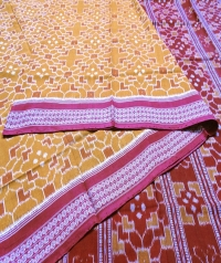7444/999 (F) Sambalpuri  Handwoven Cotton Saree