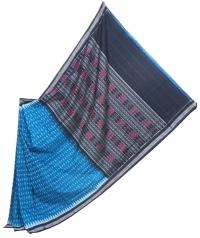 7444 REKHA KUNJA (F) Sambalpuri Handwoven Cotton Saree