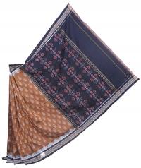 4414 ANUSAYA Sambalpuri Handwoven Cotton Saree