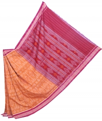 4413 PHULA KAUDI Sambalpuri Handwoven Cotton Saree