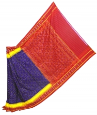 4444 SNITA RANEE Sambalpuri Handwoven Cotton Saree