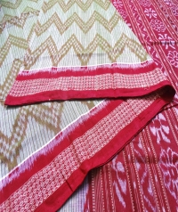 4413 ALIBHA Sambalpuri Handwoven Cotton Saree