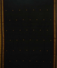 Black dongria handloom cotton saree