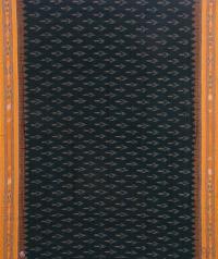 Green and yellow sambalpuri  handloom cotton saree