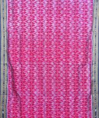 Purple and black khandua  silk saree