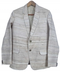 Off white men tussar blazer