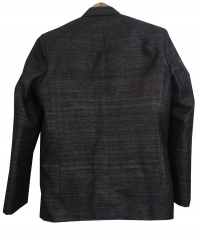 Black men tussar blazer