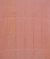 Apricot and melon orange sambalpuri cotton suit piece