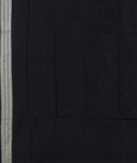 Black blue handwoven sambalpuri silk saree