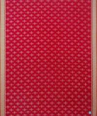 Red brown handwoven sambalpuri cotton saree
