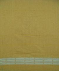 Maroon yellow  handwoven cotton Suit piece