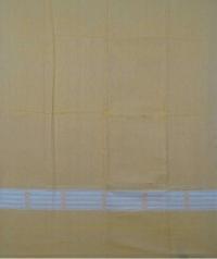 Ochre yellow light yellow handwoven cotton suit piece