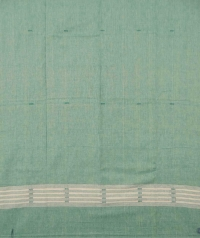 Green fern green handwoven cotton suit piece