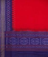 Red violet handwoven cotton dupatta